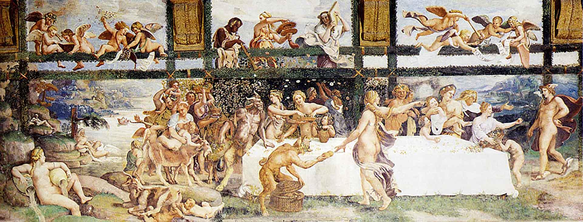 "Джулио Романо (Giulio Romano) ""The Country Banquet"""