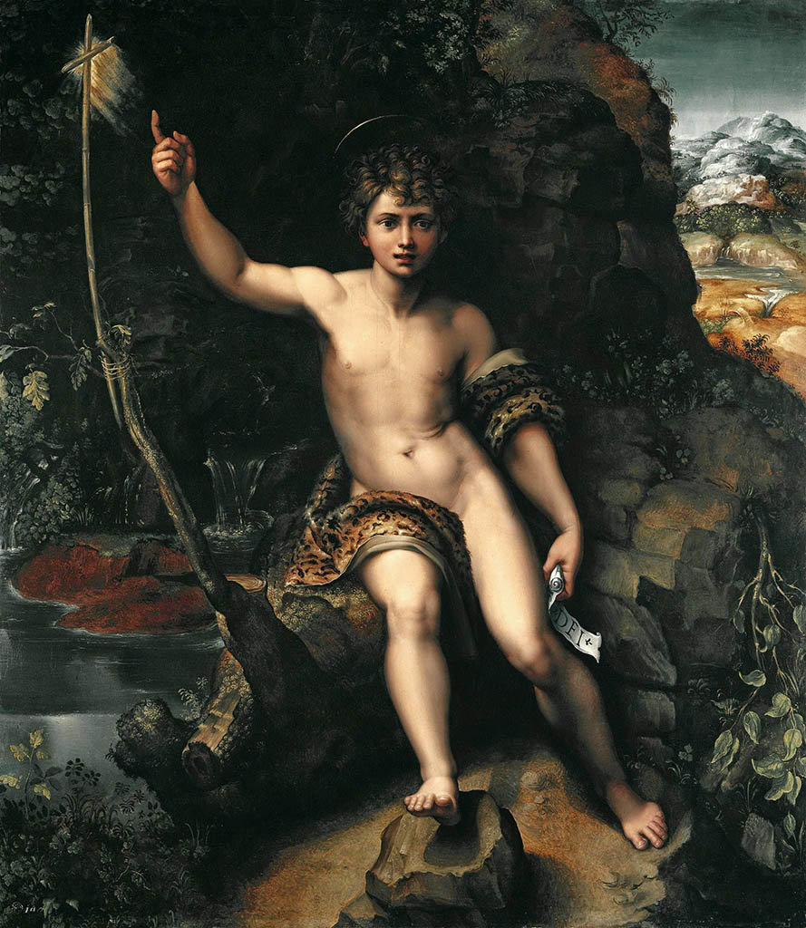 "Джулио Романо (Giulio Romano) ""Иоанн Креститель"""