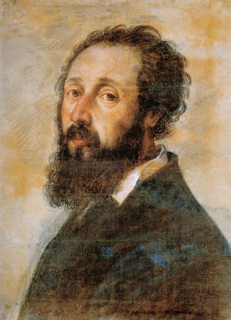 "Джулио Романо (Giulio Romano) ""Self-portrait"""