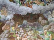 """Джулио Романо (Giulio Romano) """"Разрушение гигантов молниями Юпитера"""""""