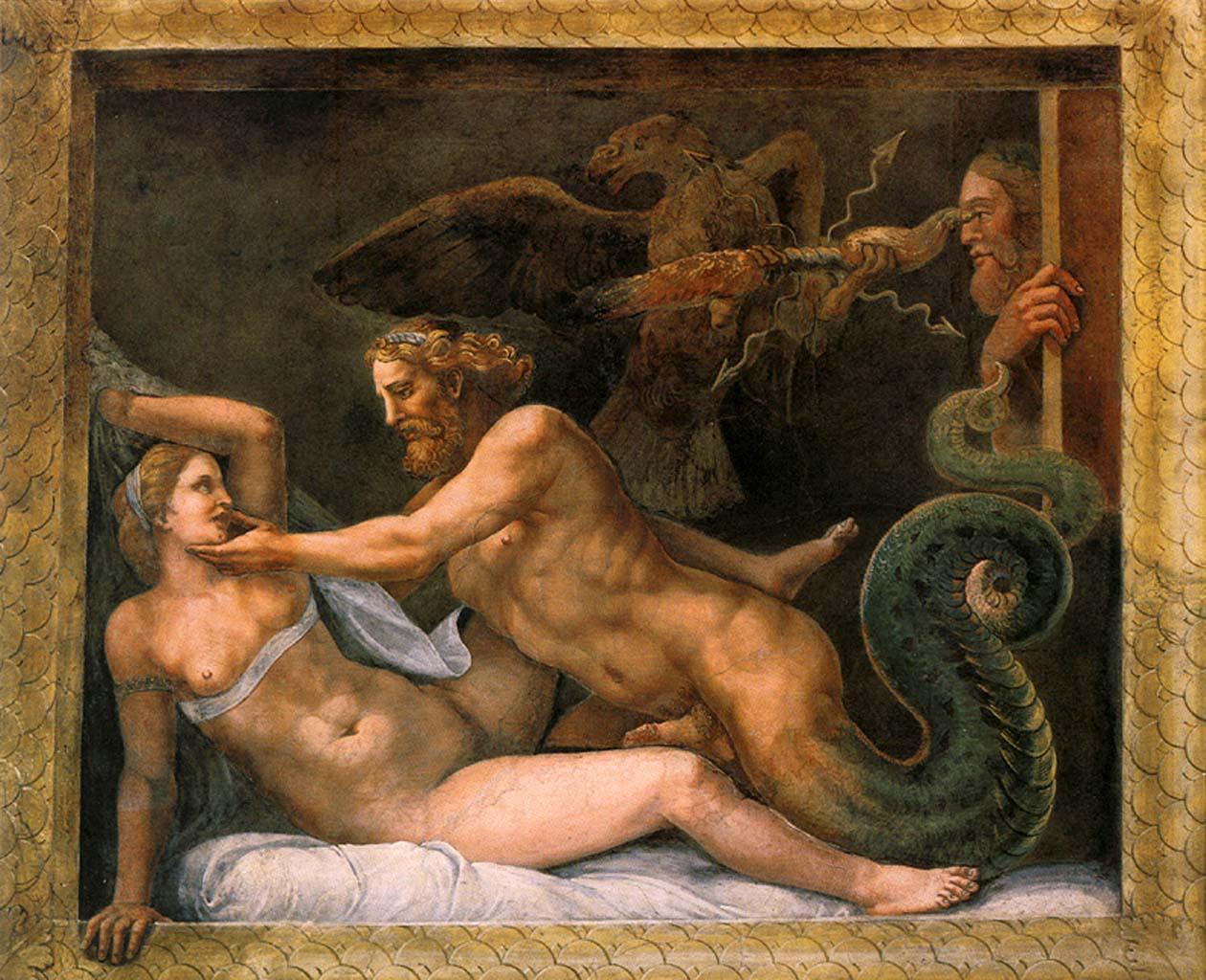"Джулио Романо (Giulio Romano) ""Jupiter and Olympia"""