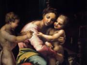 """Джулио Романо (Giulio Romano) """"Мадонна с Младенцем и маленьким Иоанном Крестителем"""""""