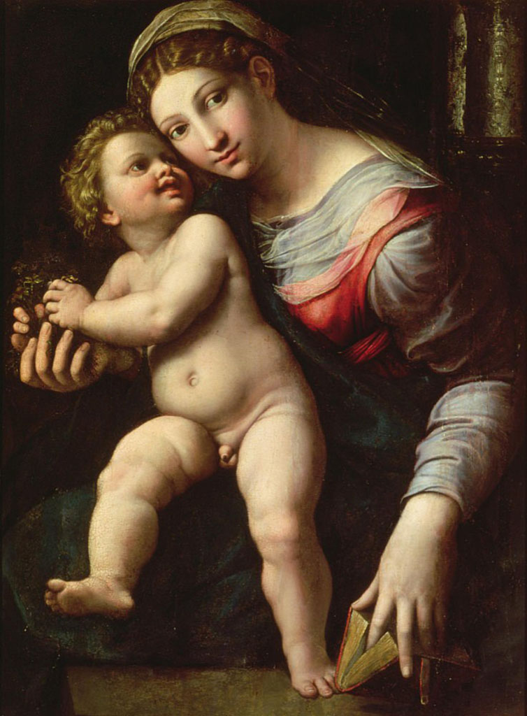 "Джулио Романо (Giulio Romano) ""Мадонна с младенцем | Madonna col Bambino"""
