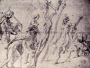 "Джулио Романо (Giulio Romano) ""Flaying of Marsyas"""