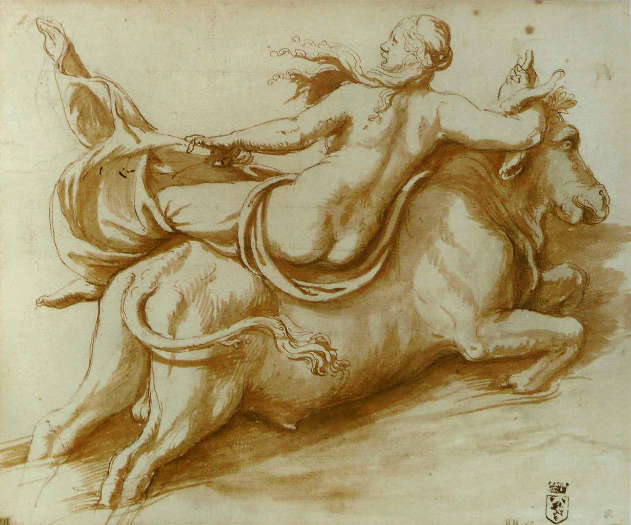 "Джулио Романо (Giulio Romano) ""The Abduction of Europa"""