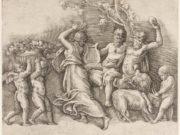 """Джулио Романо (Giulio Romano) """"A Bacchanal"""""""
