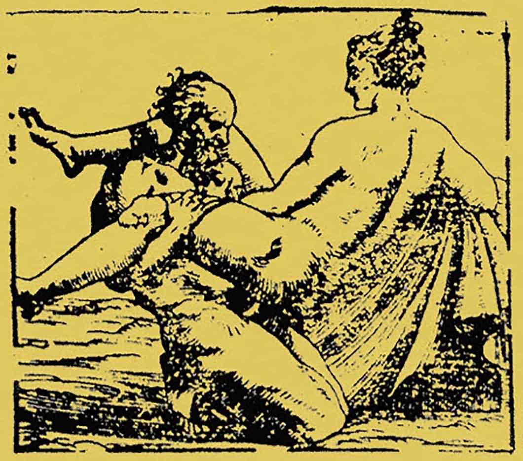 """Джулио Романо (Giulio Romano) """"Erotic Scene"""""""