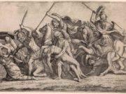 """Джулио Романо (Giulio Romano) """"Achilles Removing Patroclus"""""""