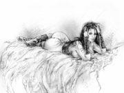 """Луис Ройо (Luis Royo), """"Иллюстрация – 106"""""""