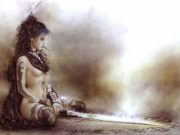 """Луис Ройо (Luis Royo), """"Иллюстрация – 54"""""""