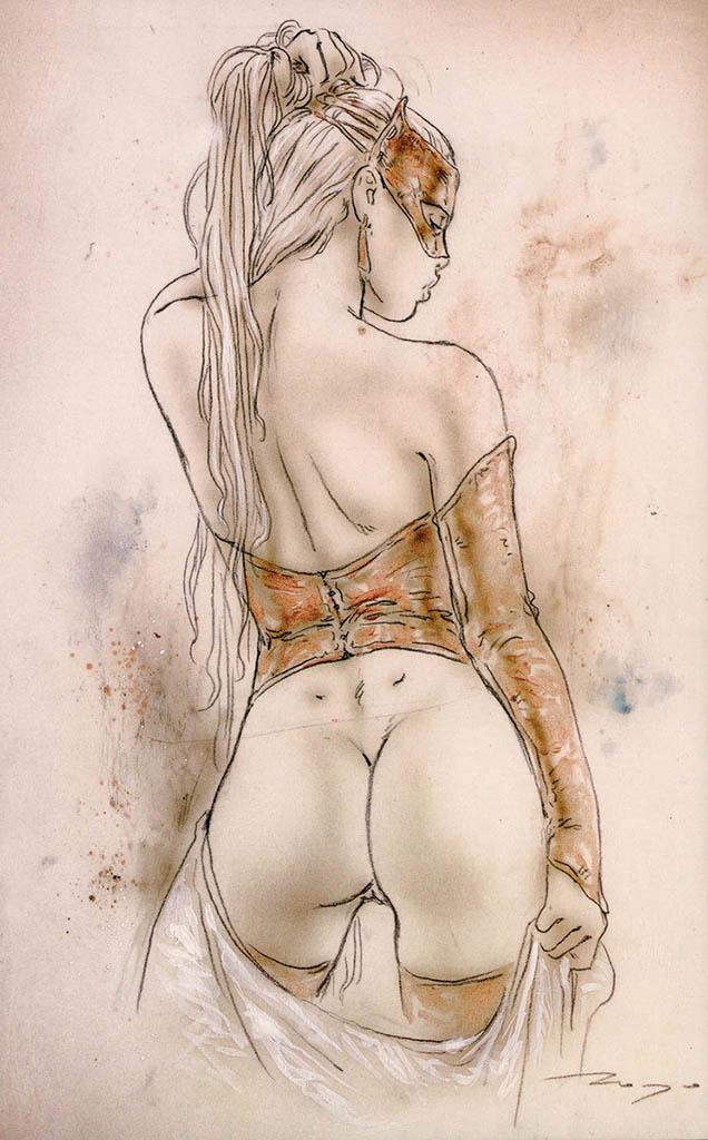"""Луис Ройо (Luis Royo), """"Иллюстрация – 67"""""""