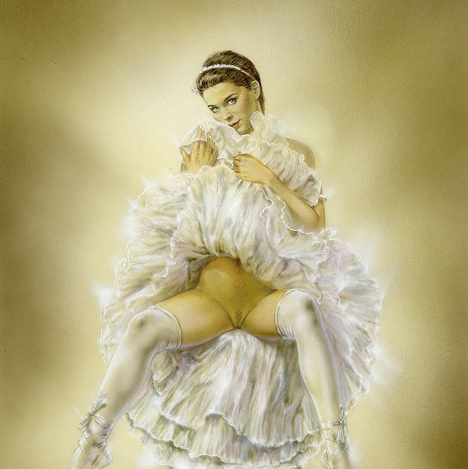 """Луис Ройо (Luis Royo), """"Иллюстрация – 6"""""""
