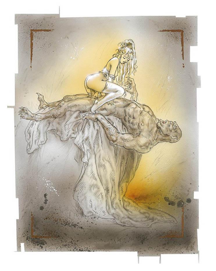 """Луис Ройо (Luis Royo), """"Иллюстрация – 94"""""""