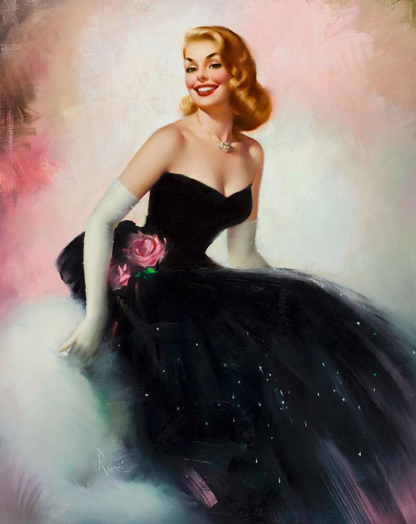 "Эдвард Рунчи (Edward Runci) ""Black dress"""