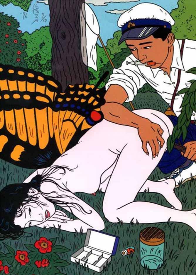 "Тошио Саеки (Toshio Saeki) ""Erotic illustration - 10"""
