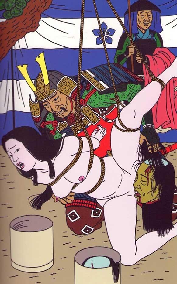 "Тошио Саеки (Toshio Saeki) ""Erotic illustration - 15"""