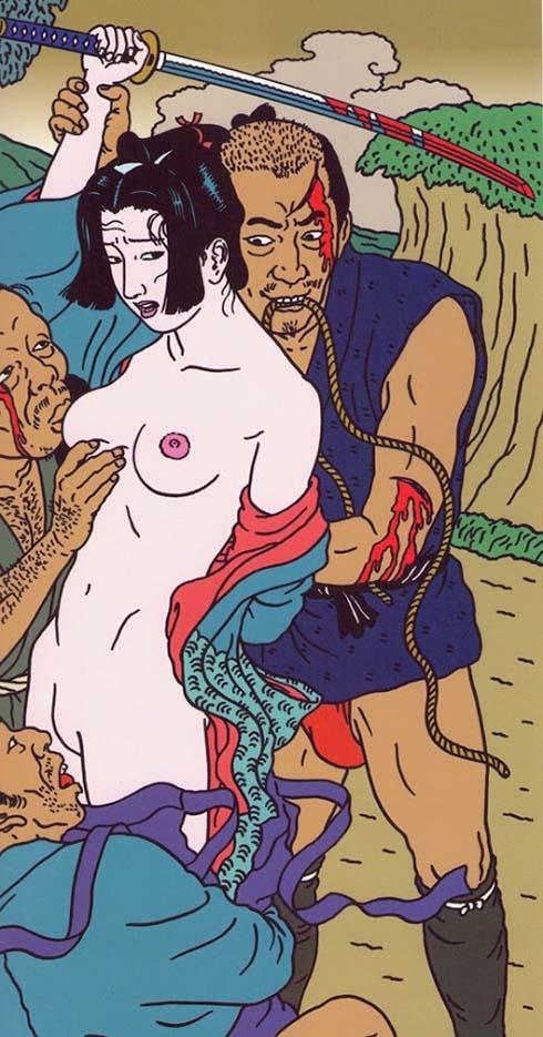 "Тошио Саеки (Toshio Saeki) ""Erotic illustration - 16"""