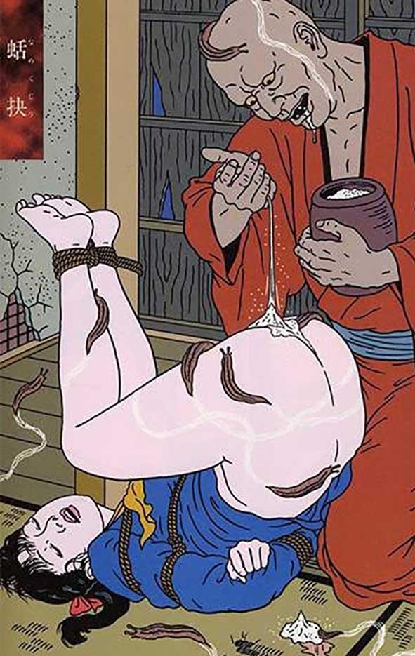 "Тошио Саеки (Toshio Saeki) ""Erotic illustration - 18"""