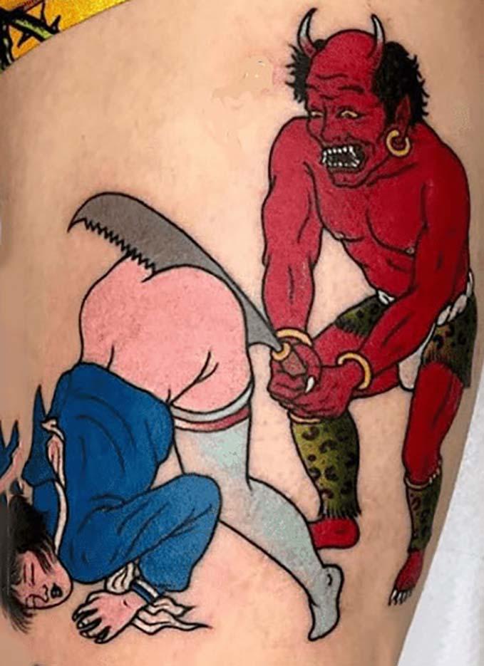 "Тошио Саеки (Toshio Saeki) ""Erotic illustration - 26"""