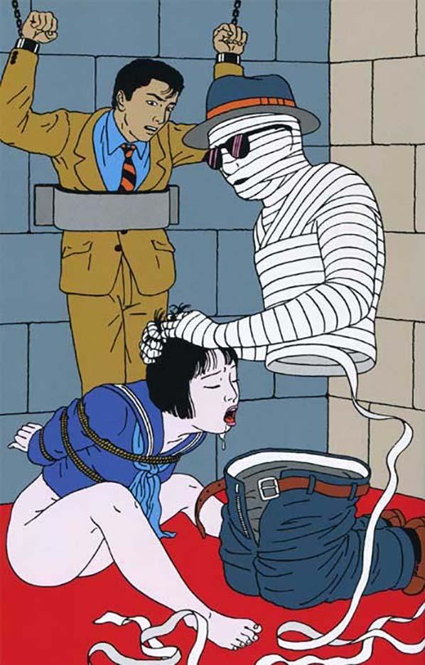 "Тошио Саеки (Toshio Saeki) ""Erotic illustration - 28"""