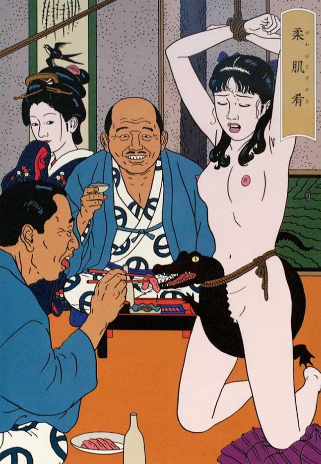 "Тошио Саеки (Toshio Saeki) ""Erotic illustration - 29"""