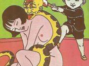 "Тошио Саеки (Toshio Saeki) ""Erotic illustration - 36"""