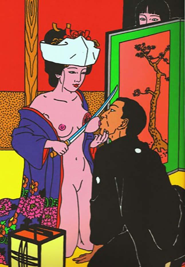 "Тошио Саеки (Toshio Saeki) ""Erotic illustration - 37"""