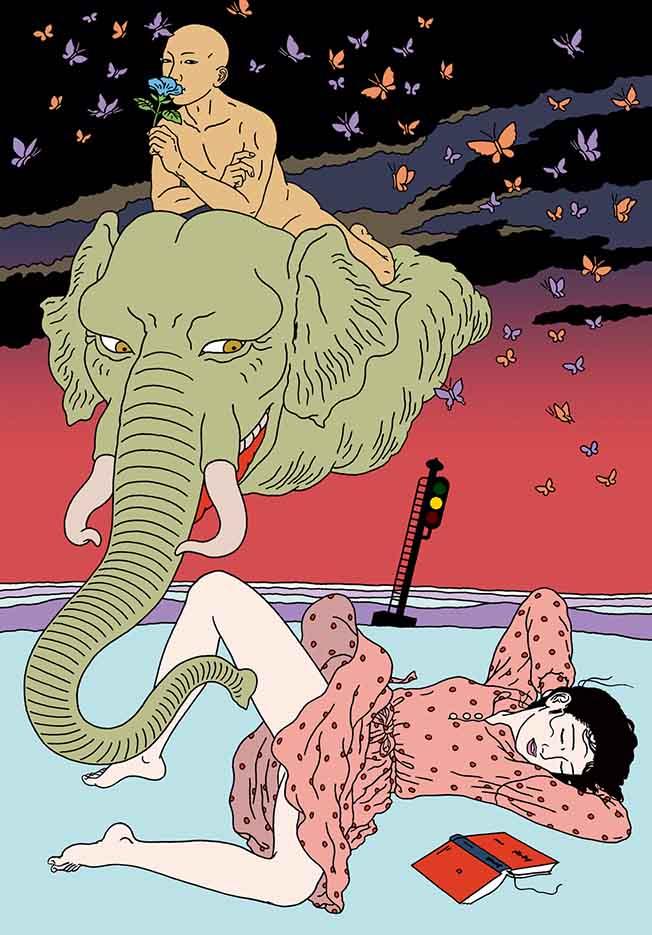 "Тошио Саеки (Toshio Saeki) ""Erotic illustration - 40"""