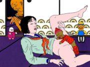 "Тошио Саеки (Toshio Saeki) ""Erotic illustration - 46"""