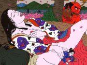 "Тошио Саеки (Toshio Saeki) ""Erotic illustration - 47"""