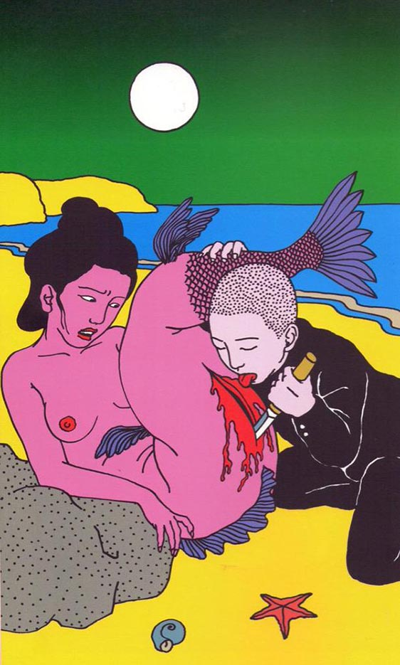 "Тошио Саеки (Toshio Saeki) ""Erotic illustration - 4"""