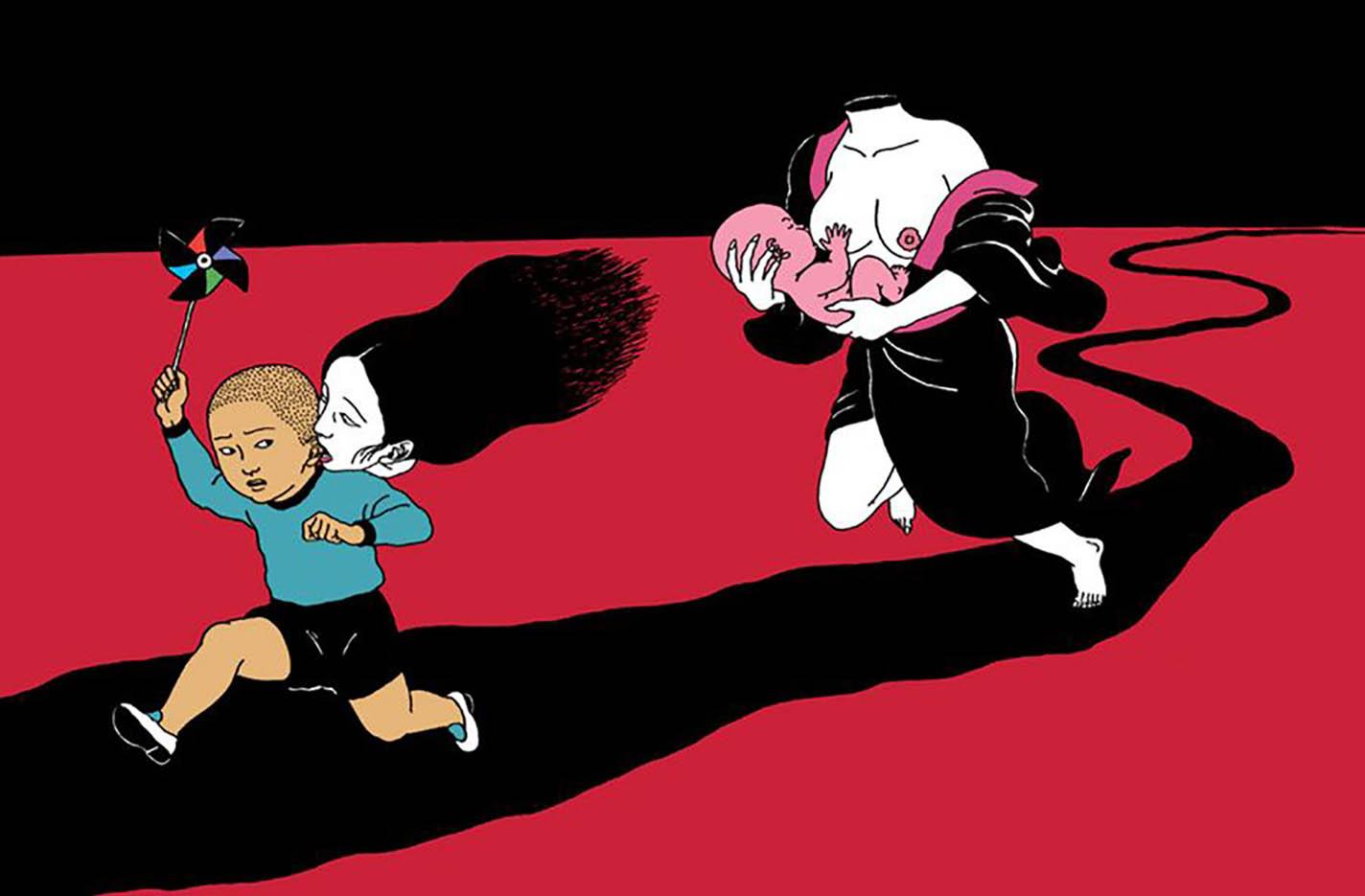 "Тошио Саеки (Toshio Saeki) ""Erotic illustration - 51"""