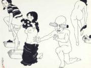 "Тошио Саеки (Toshio Saeki) ""Erotic illustration - 57"""