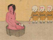 "Тошио Саеки (Toshio Saeki) ""Erotic illustration - 64"""