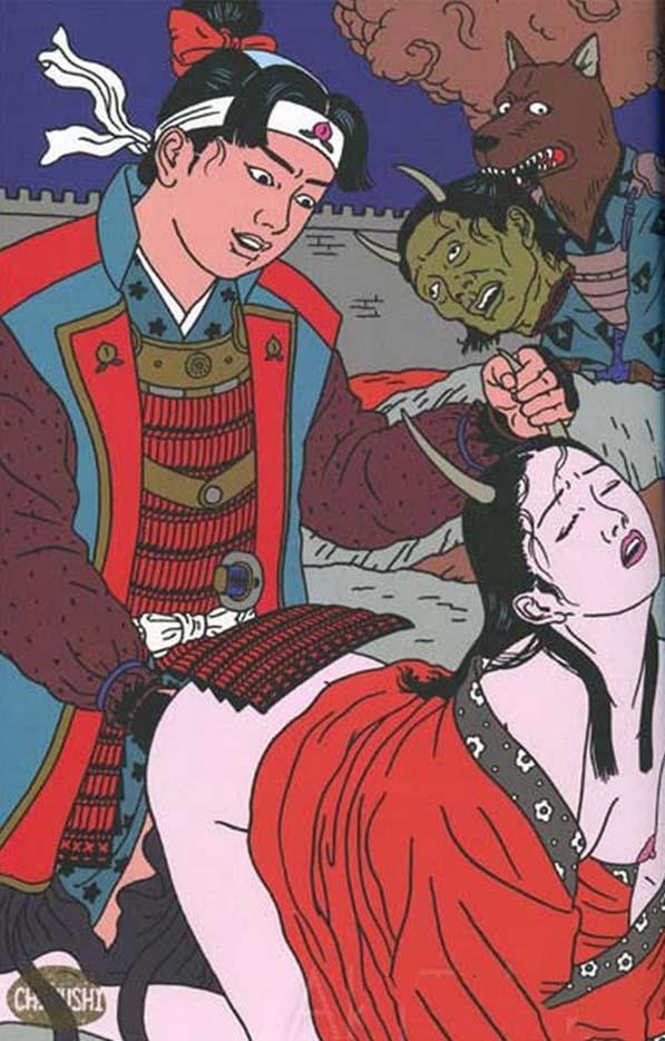 "Тошио Саеки (Toshio Saeki) ""Erotic illustration - 7"""