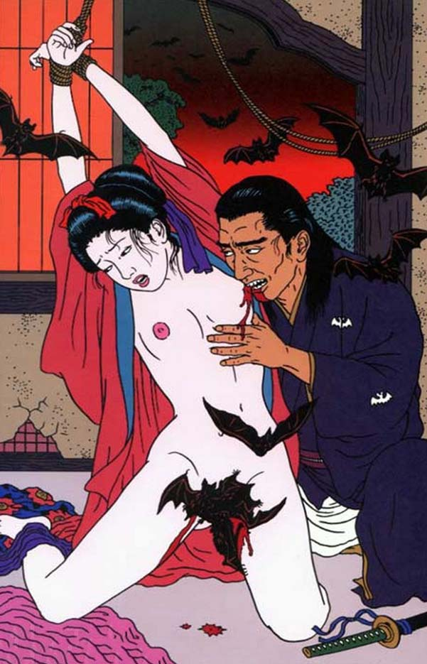 "Тошио Саеки (Toshio Saeki) ""Erotic illustration - 8"""
