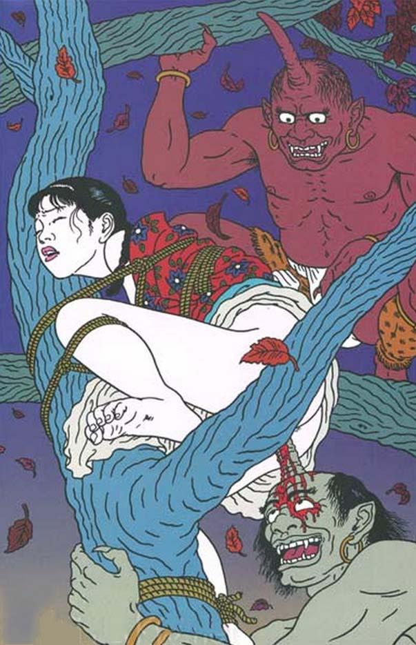 "Тошио Саеки (Toshio Saeki) ""Erotic illustration - 9"""