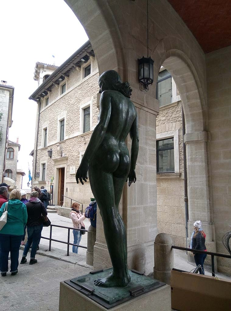 Сан Марино - 3 (San Marino sculpture)