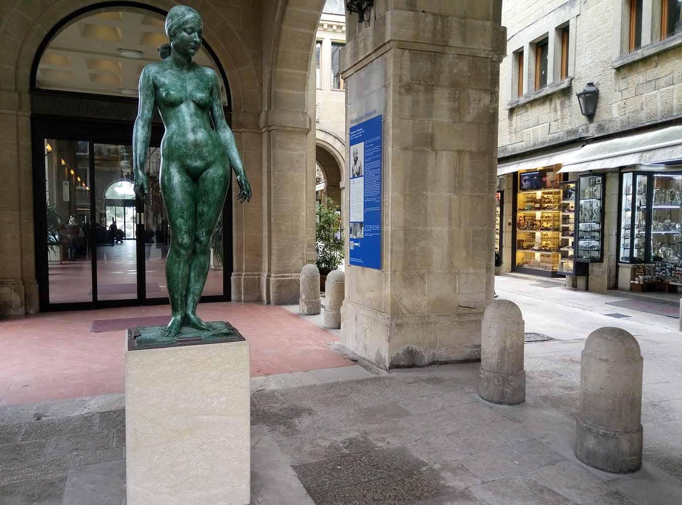 Сан Марино - 4 (San Marino sculpture)