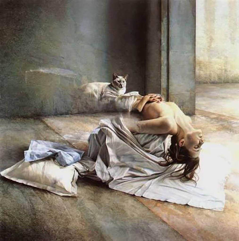 "Иштван Шандорфи (István Sándorfi) ""Repos d'Amelie """