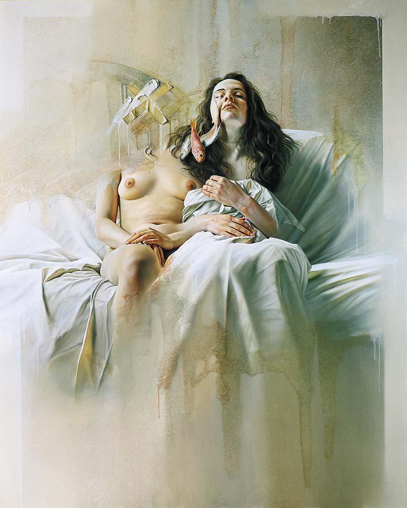 "Иштван Шандорфи (István Sándorfi) ""Marie and Madeleine"""