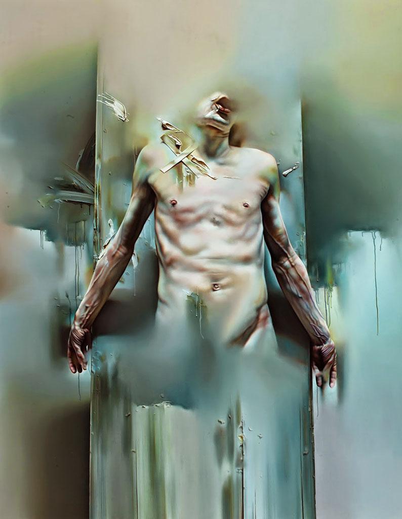"Иштван Шандорфи (István Sándorfi) ""Resurrection Blanc Titane"""