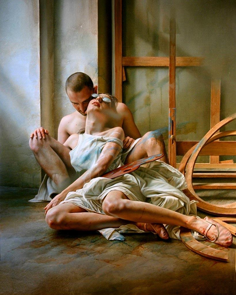 """Иштван Шандорфи (István Sándorfi) """"Untitled - 39"""""""