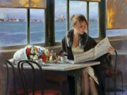 "Рикардо Санз (Ricardo Sanz) ""En el Cafe"""