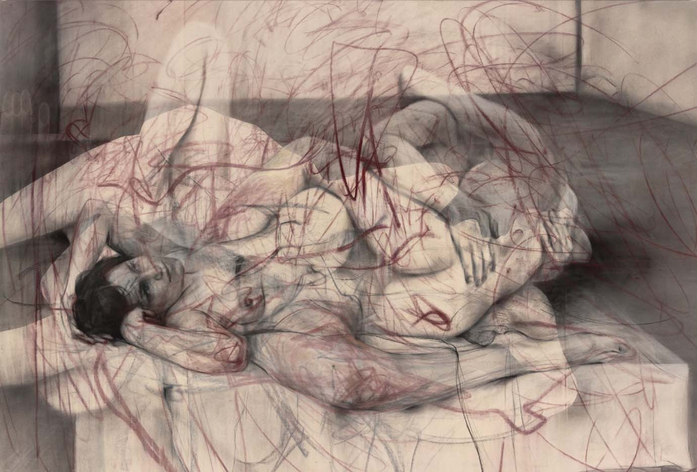 "Дженни Савиль (Jenny Saville) ""One out of Two"""
