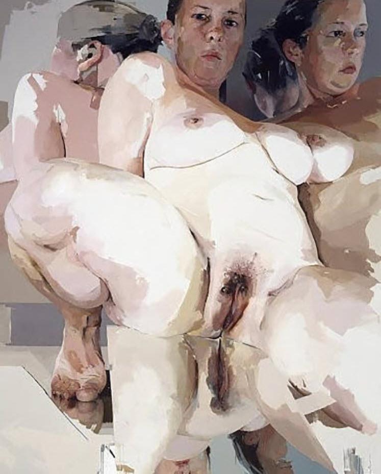 "Дженни Савиль (Jenny Saville) ""Reflective Flesh"""