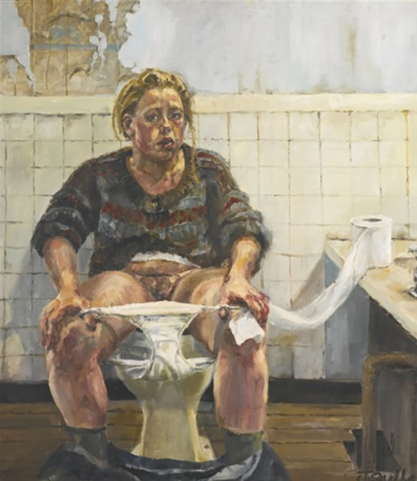 "Дженни Савиль (Jenny Saville) ""Self portrait - 2"""