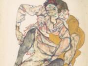 "Эгон Шиле (Egon Schiele), ""Sitzendes Paar"""