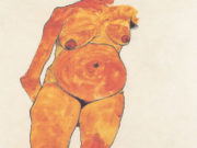 "Эгон Шиле (Egon Schiele), ""Bildnis einer Schwangeren"""
