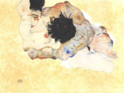 "Эгон Шиле (Egon Schiele), ""Embracing"""